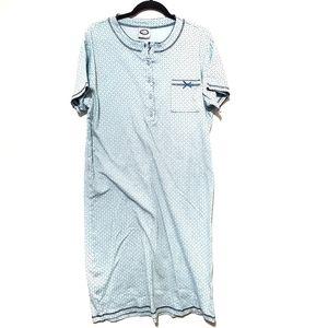 Claudel Intimates & Sleepwear - Claudel long nightgown, short-sleeve M